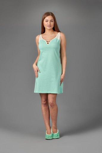 Женская сорочка ЖС 027 (T) (Ментол) - Злата