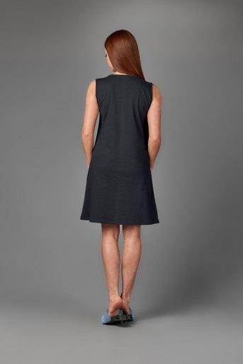 Женская сорочка ЖС 026 (T) (Темно-синий) (Фото 2)
