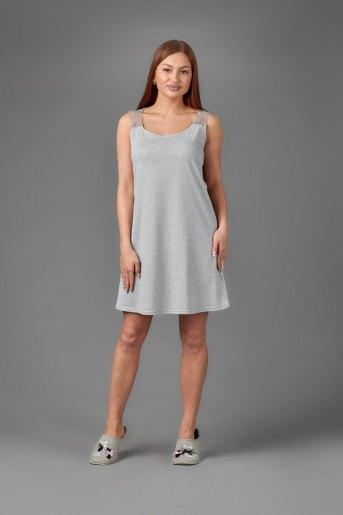Женская сорочка ЖС 026 (T) (Серый) - Злата