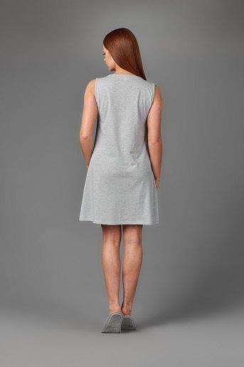 Женская сорочка ЖС 026 (T) (Серый) (Фото 2)