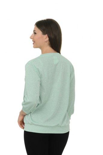 """Блуза """"Сюзи"""" (Ментол) (Фото 2)"""