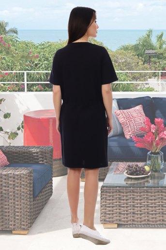 Платье Умник (N) (Черный) (Фото 2)