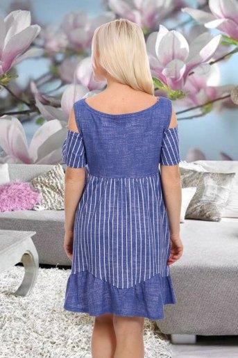 Платье 7150 (N) (Джинс) (Фото 2)