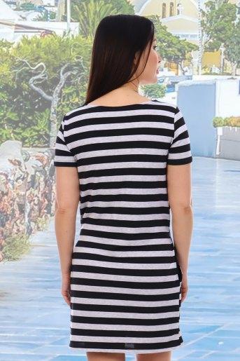 Платье 10474 (N) (Полоса) (Фото 2)