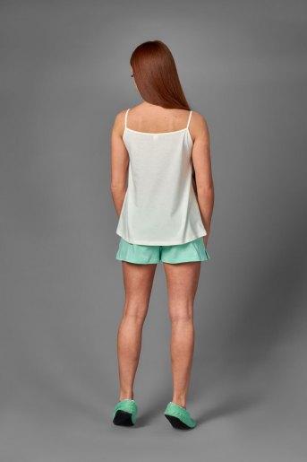 Женская пижама ЖП 043 (T) (Ментол_молочный) (Фото 2)