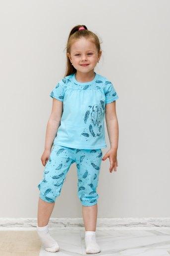 Пижама Пёрышко (Ю) (Голубой) - Злата