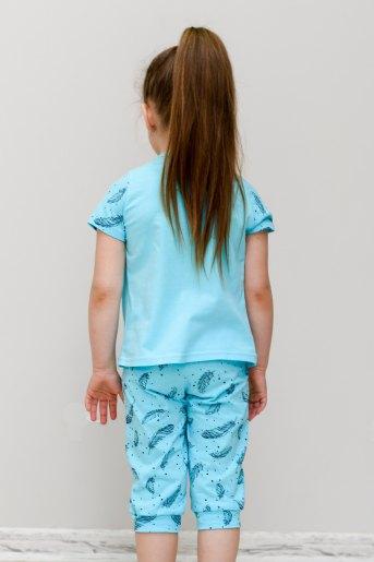 Пижама Пёрышко (Ю) (Голубой) (Фото 2)