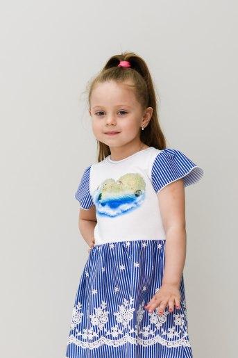 Платье Морячка (Ю) - Злата
