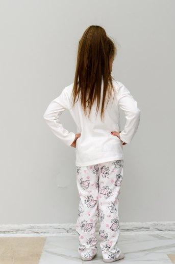 Пижама Пушистик (Ю) (Молочный) (Фото 2)