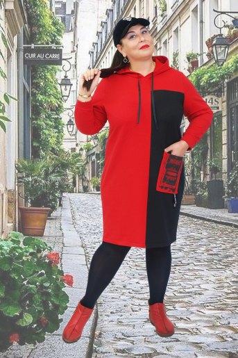 Платье Тоскана (N) (Красный) - Злата