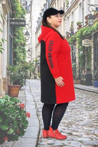 Платье Тоскана (N) (Красный) (Фото 2)