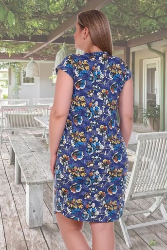 Платье 12412 (N) (Джинс) (Фото 2)