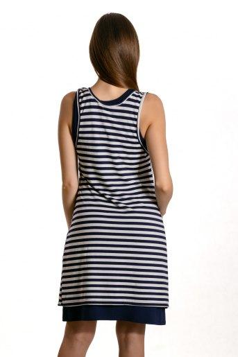 Платье 10814 (N) (Синий) (Фото 2)