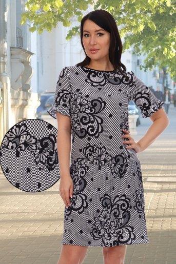 Платье 10333 (N) (Белый) - Злата