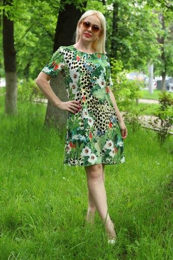 Платье 10337 (N) (Зеленый) - Злата