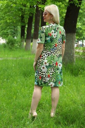 Платье 10337 (N) (Зеленый) (Фото 2)