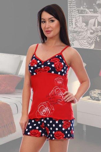 Пижама 5552 (N) (Красный) - Злата