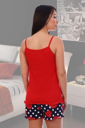 Пижама 5552 (N) (Красный) (Фото 2)
