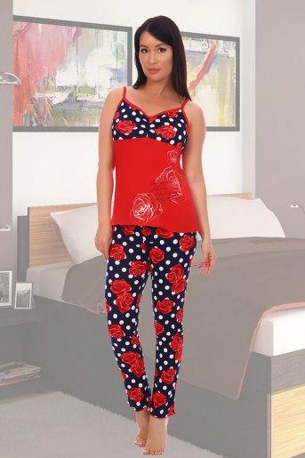Пижама 5551 (N) (Красный) - Злата