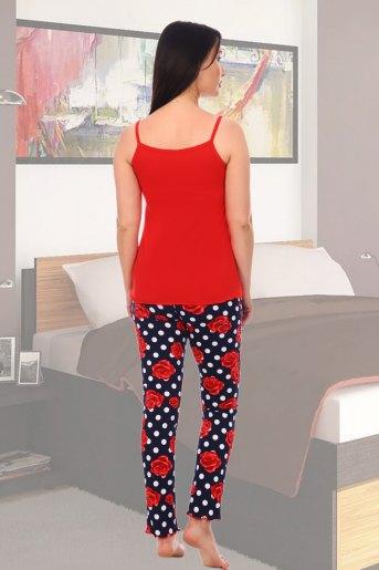 Пижама 5551 (N) (Красный) (Фото 2)