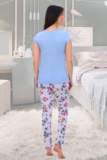 Пижама 5553 (N) (Голубой) (Фото 2)