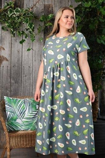 Платье 4535 (N) (Зеленый) - Злата