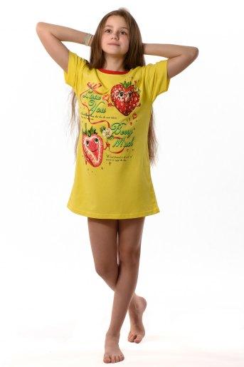 Туника Вкусняшка детская (N) (Желтый) - Злата