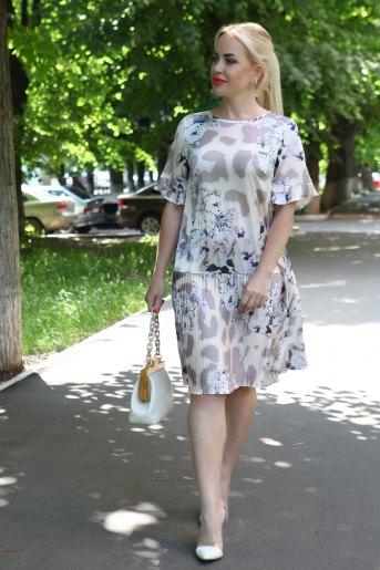 Платье 10339 (N) (Бежевый) (Фото 2)