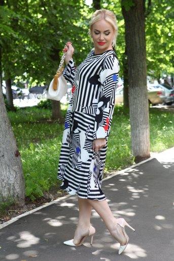 Платье 10340 (N) (Белый) - Злата