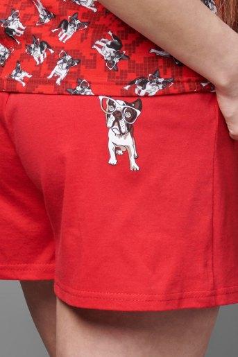 Женский костюм ЖК 026 (T) (Красный) (Фото 2)