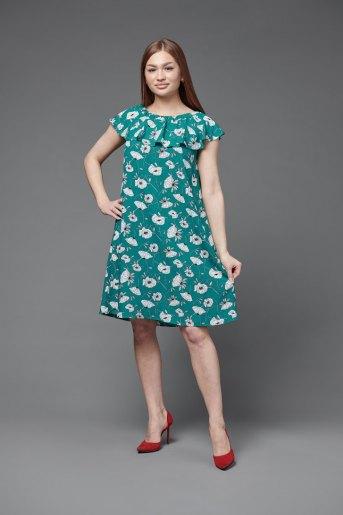 Платье П 704 (T) (Зеленый) - Злата