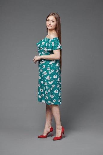 Платье П 704 (T) (Зеленый) (Фото 2)