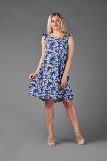 Платье П 703/1 (T) (Синий) - Злата