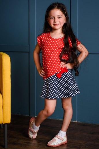 Платье 10485 детское (N) (Горох) - Злата