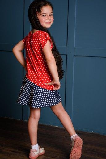 Платье 10485 детское (N) (Горох) (Фото 2)