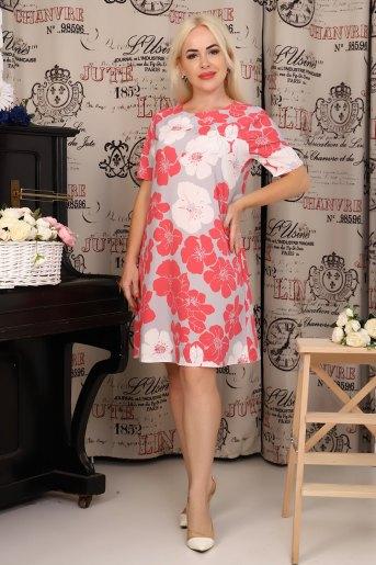 Платье 10342 (N) (Коралловый) - Злата