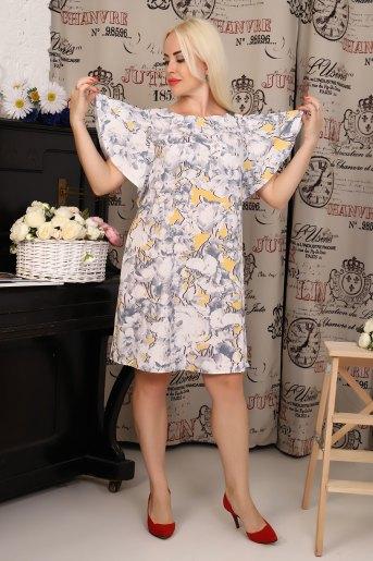 Платье 10341 (N) (Желтый) (Фото 2)