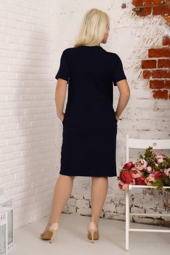 Платье 4841 (N) (Синий) (Фото 2)