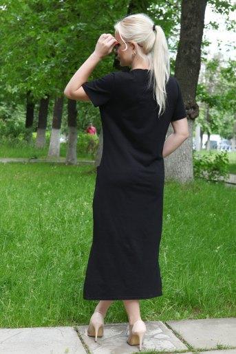 Платье 13334 (N) (Черный) (Фото 2)