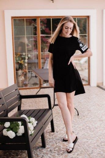 Платье П 778 (T) (Черный) - Злата