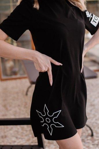 Платье П 778 (T) (Черный) (Фото 2)