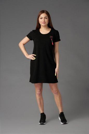 Платье П 779 (T) (Черный) - Злата