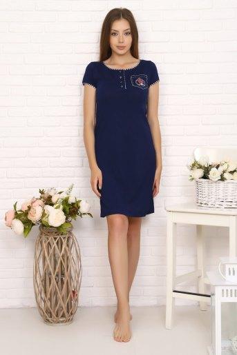 Платье 6868 (N) (Темно-синий) - Злата