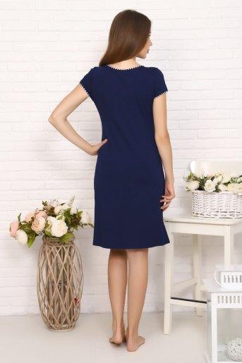 Платье 6868 (N) (Темно-синий) (Фото 2)