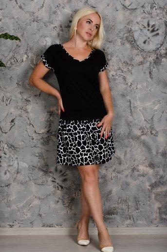 Платье 7220 (N) (Черный) - Злата