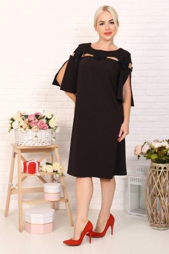 Платье 10348 (N) (Черный) - Злата