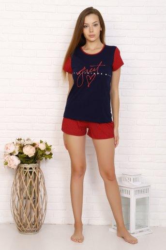 Пижама 5606 (N) (Красный) - Злата