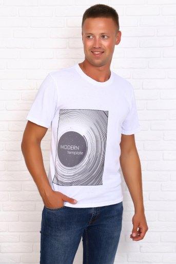 Футболка 10273 (N) (Белый) - Злата