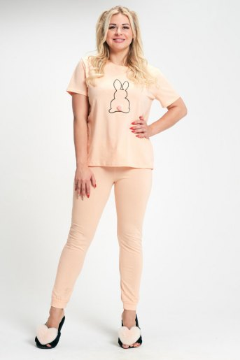 Пижама женская ЖП 030/1 (T) (Персиковый) - Злата