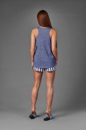 Женский костюм ЖК 023 (T) (Джинса_полоса) (Фото 2)